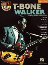 T-Bone Walker Guitar Play Along 8 Songs! Tab Book Cd NEW!