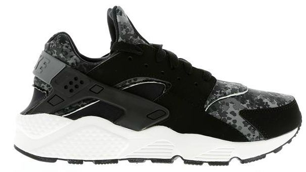 2014 Exclusive Men's Nike Air Huarache Black/Grey/Green All Sizes