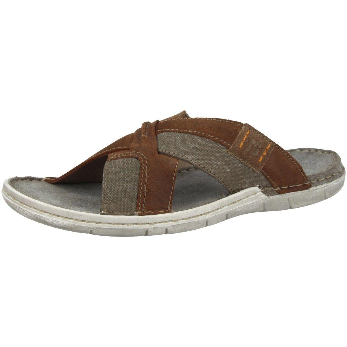 Josef Seibel Paul 96 Sandales Homme Mules Chaussures Pantoufle 43296-977-351
