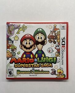 Mario-amp-Luigi-Superstar-Saga-Bowser-039-s-Minions-Nintendo-3DS-2017-NEW-SEALED