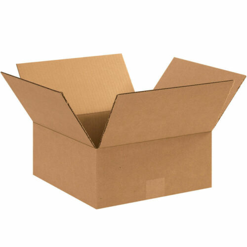 100-9 x 9 x 4 Corrugated Shipping Boxes Storage Cartons Moving Packing Box