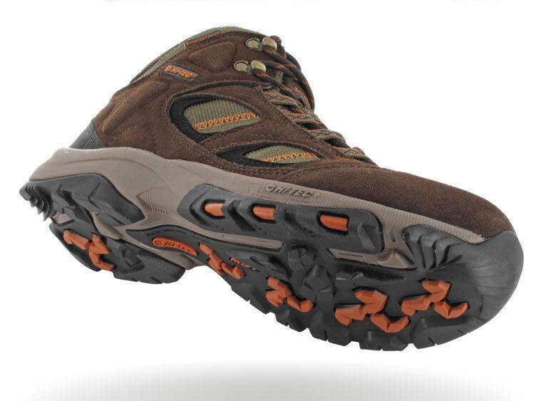 Hi Tec Mens Pine Ridge Waterproof WP  Walking Hiking Boots - FREE UK P&P  great offers