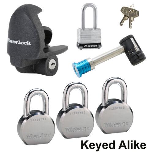 6 Trailer Locks Keyed Alike Master Lock 6KA-3796230-3