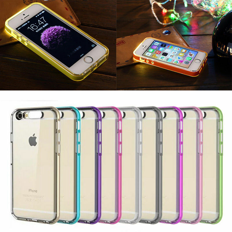 Led Flash Light Up Remind Incoming Call Cover Case Skin