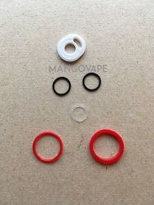 SMOK TFV8 Baby Beast Replacement Red Seal Gaskets White Fill Cap O Ring Kit