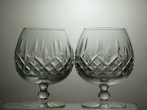 CUT-GLASS-LEAD-CRYSTAL-BRANDY-GLASSES-SET-OF-2-5-034-TALL-12-OZ