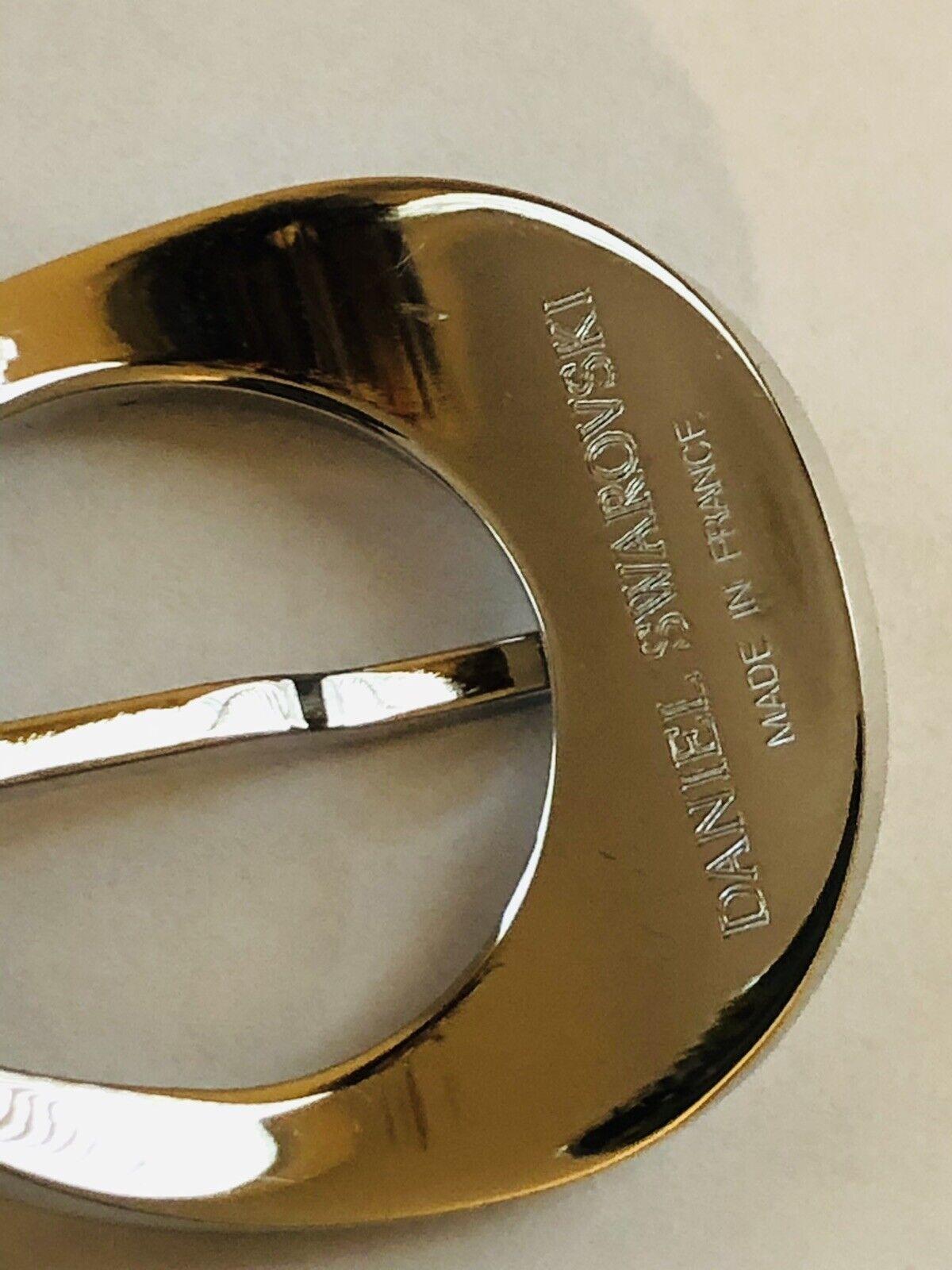 DANIEL SWAROVSKI Star Collection 2006 Silver Meta… - image 11
