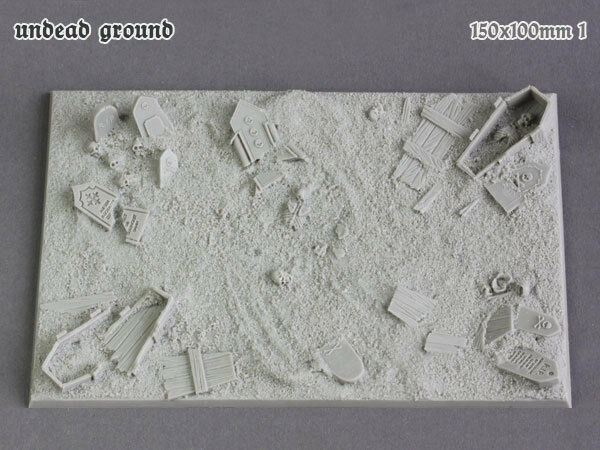 Undead Ground 150x100mm (1) - Tabletop Art