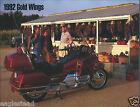 Motorcycle Brochure - Honda - Gold Wings - 1992 (DC432)
