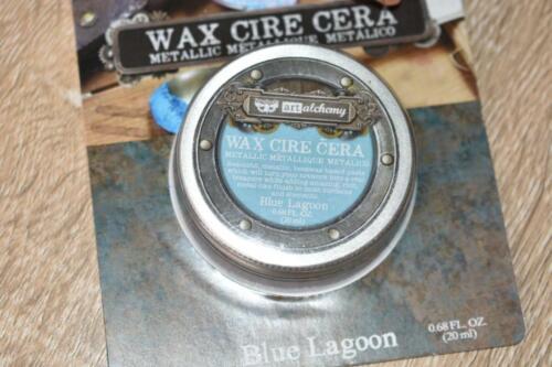Blue Lagoon Finnabair Metallique WAX Art Alchemy Prima Marketing Metallic