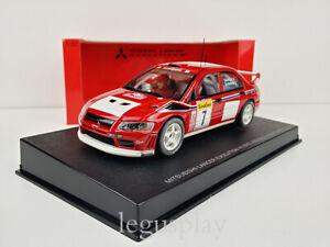 Slot Car Scalextric Autoart 13012 Mitsubishi Lancer Evo VII WRC 2002 Montecarlo