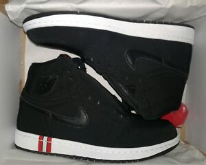 AIR JORDAN 1 RETRO HIGH OG BCFC AR3254-001 Black BLACK-CHALLENGE RED ... d322265df