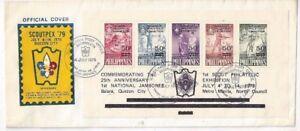 1979-Philippine-Islands-Boy-Scout-Scoutpex-Overprinted-Souvenir-Sheet-C112