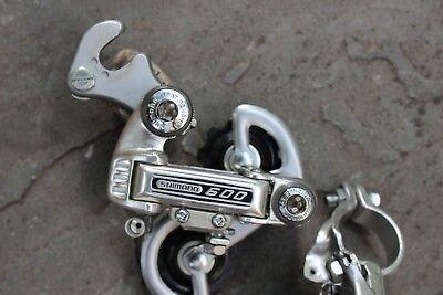 Shimano 600 Front And Rear Derailleur Set . Nos Never Used Een Brede Selectie Kleuren En Motieven