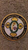 Boy Scouts 2010 Catholic Committee Celebrating Jesus Iron On Patch 4 Inch Nice