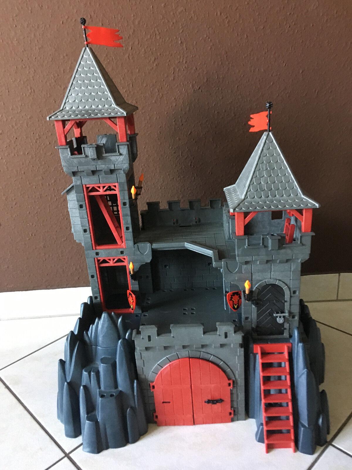 OSTERANGEBOT PLAYMOBIL Drachenritterburg+zusätzlichem Ritterbundle+rotem Drachen
