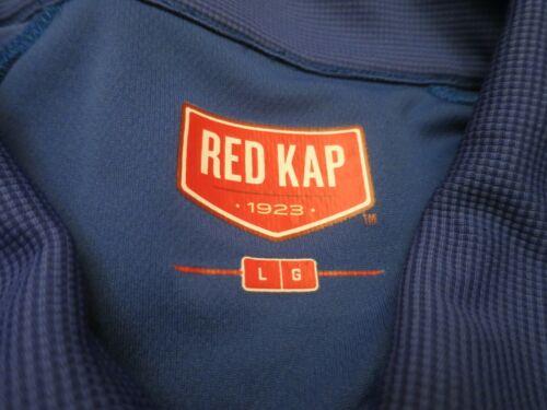 Details about  /Red Kap SK92 Men/'s Performance Knit Flex Series Active Polo Royal Blue Size L