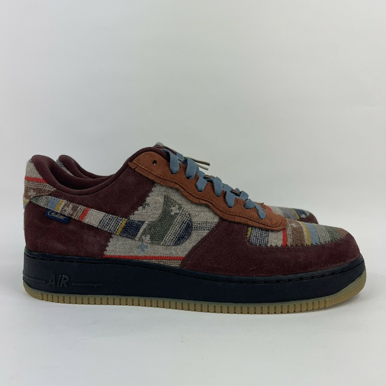 Nike Air Force 1 Low Pendleton Mens Size 14 Nike By You CK5075 993 No Lid
