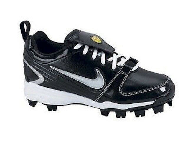Women's Nike Unify MCS Softball Cleats - Black/White - NIB! Wild casual shoes