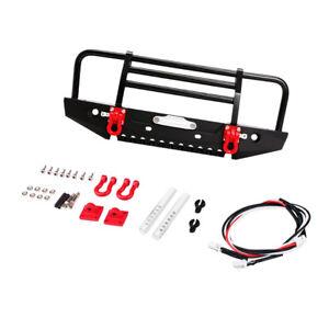 Metal CNC Front Bumper Guard Fit For RC4WD D90 D110 RC 1//10 Rock Crawler Car