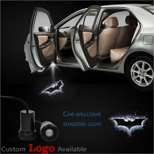 2 x Dark Knight Batman Car Door Welcome Laser Projector Ghost Shadow LED Lights