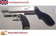 Arma de fuego de Luz Adaptador de disparo de pistola de mano para Nintendo Wii Juego De Control Remoto