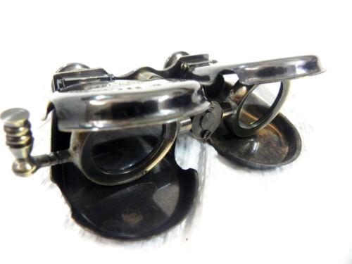 "5/"" NAUTICAL ANTIQUE BRASS BINOCULAR MONOCULAR SPYGLASS KELVIN /& HUGHES 1917"