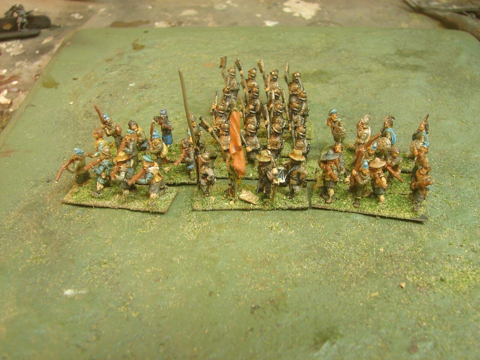 15mm Handpainted ECW Scots Highlander  Army (Essex)