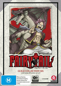 FAIRY-TAIL-GUILD-COLLECTION-6-EPS-227-277-DVD-NEW