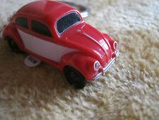 Schlüsselanhänger VW Käfer mit LED-Licht Volkswagen, 1:87 rot