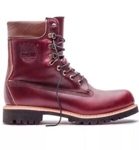 pesadilla pensión insuficiente  $500 TIMBERLAND BURGUNDY HORWEEN LEATHER 8 INCH BOOT MADE IN USA ...