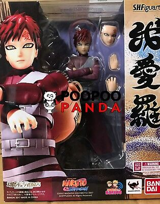 Bandai S.H.Figuarts Naruto Shippuden Gaara P-Bandai Web Exclusive IN STOCK USA