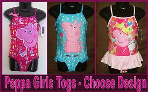 New PINK PRINCESS COSSIE Stunning Swimwear BATHERS GIRLS TOGS Sz 4 or 10