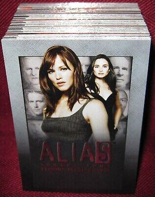 Season 4 2006 Inkworks Complete 81 Trading Card SET Alias NM