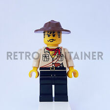 LEGO Minifigures - 1x adv010 - Johnny Thunder - Adventurers Omino Minifig
