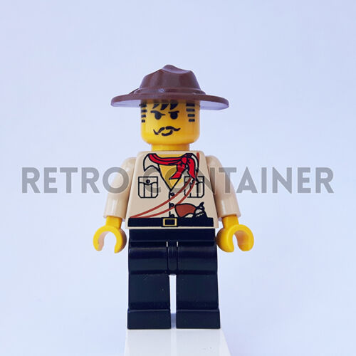 Johnny Thunder LEGO Minifigures Adventurers Omino Minifig 1x adv010