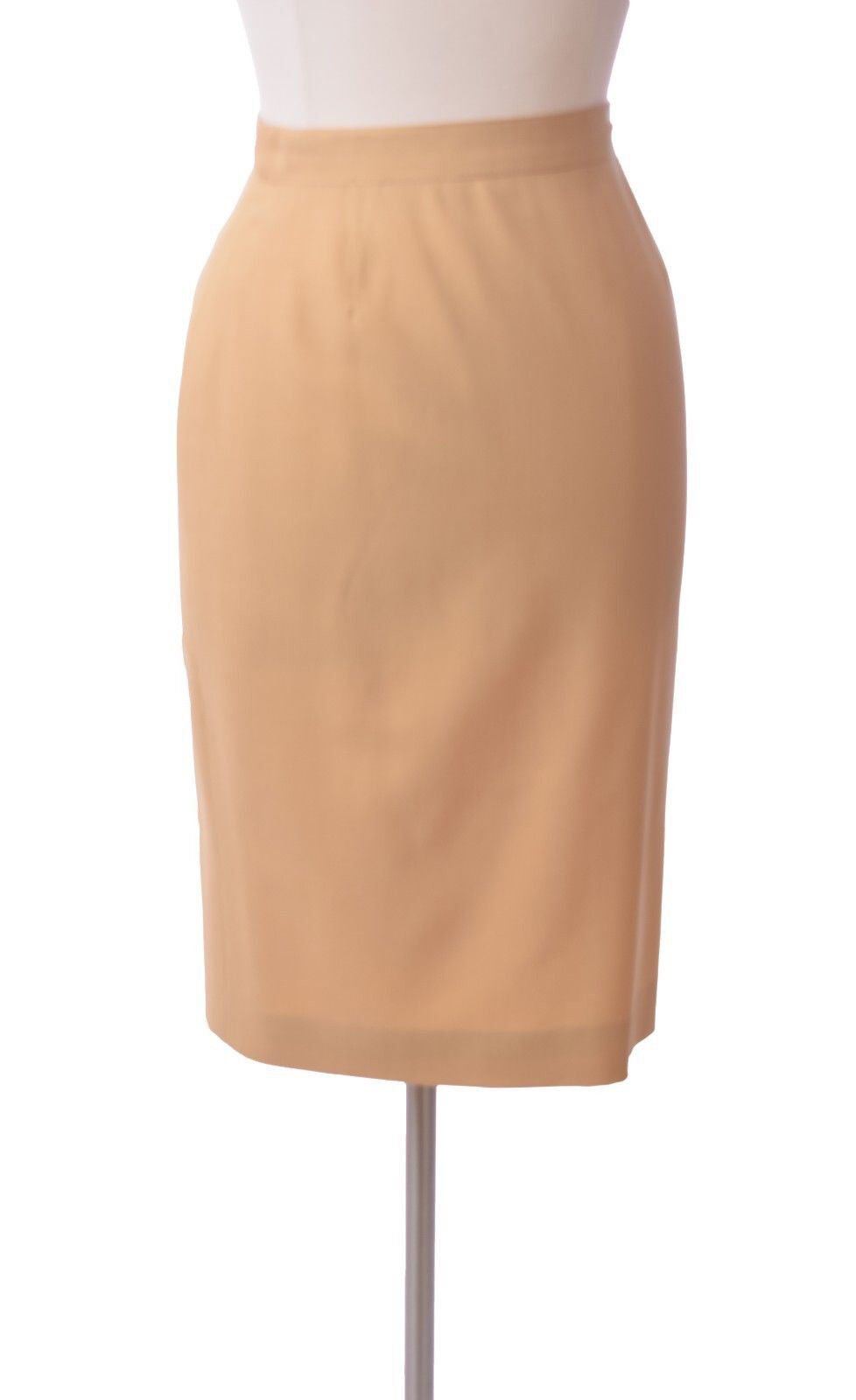 Rena Lange Cream Straight Pencil  Skirt Size  8