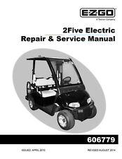 Ez go golf cart part rxv electric service parts manual 607975 ebay ez go e z go 2010 2015 electric 2five golf cart service manual on cd publicscrutiny Image collections