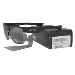 adbc7b9e076 Oakley OO 9350-02 POLARIZED TWO FACE XL Matte Black Prizm Daily ...