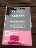 Seymour Duncan Jb Jazz Hot Rodded Pickup Set Humbucker Sh-4 / Sh-2 Black