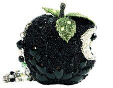 Mary Frances Wicked Black Apple Crystal Green Bag Purse Handbag NEW Fairy Tale