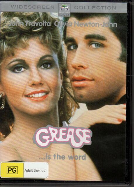 GREASE - DVD R4 (2015)  John Travolta Olivia Newton-John LIKE NEW - FREE POST