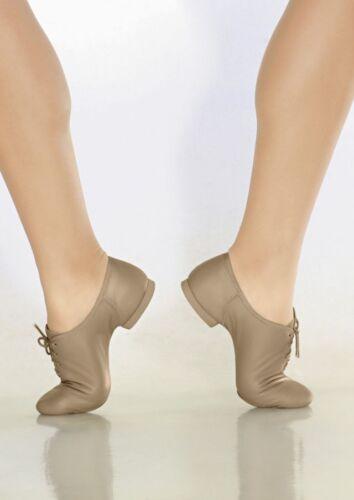 fits size 6 Theatricals J007 Tan Adult Size 6.5M Lace Up Split-Sole Jazz Shoe