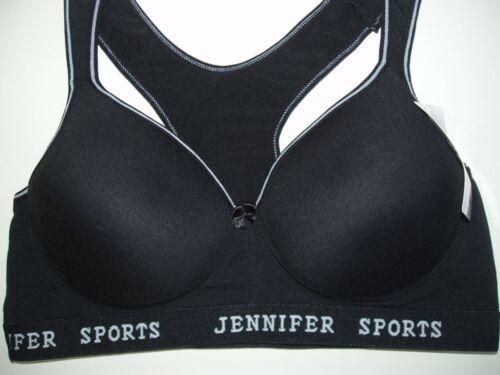 1 NWT Women SPORT BRA Active Wear Workout PADDED Yoga top 42B 42C 44B 44C #61014