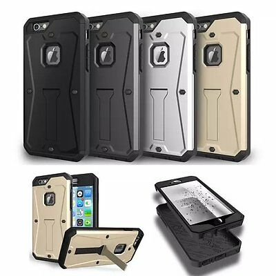 Heavy Duty Hybrid Tank Armor Hard Case Protective Cover For iPhone 6S Plus NEW