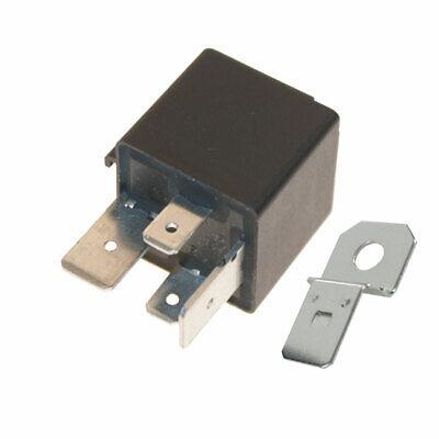 12v 70A 4 Pin Relay Heavy Duty Make /& Break Starter Relay /& Bracket Pack 2