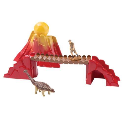 Ania T16062 Prehistoric Adventure w/ Ankylosaurus & Man Collectable Toys Playset
