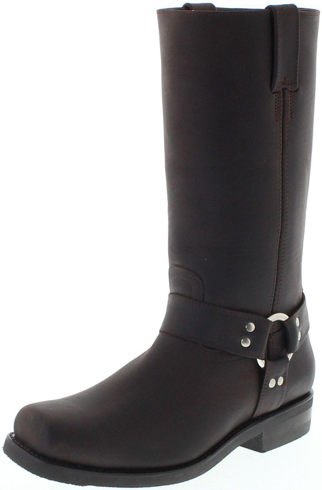 economico in alta qualità Prime stivali 44330 Espanol Stivali Stivali Stivali di pelle per signore e signori Marrone Biker Stivali  promozioni