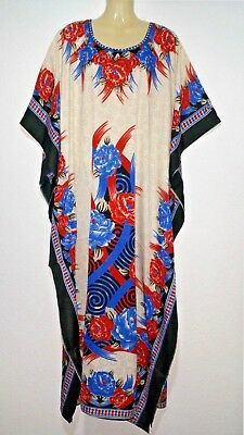 Maxi Plage Robe d/'été Robe Caftan Boho Jellabiya Abaya Takshita Kimono