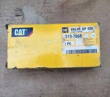 Caterpillar Nos Oem Solenoid Valve Gp 313 7668 Cat Factory Parts 3137668